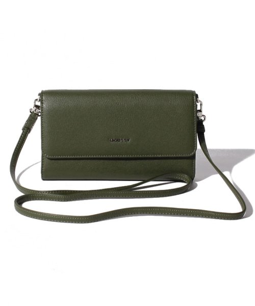MOUSSY(BAG)(マウジー(バッグ))/【MOUSSY】 SIMPLE SHOUDER FLAP SHOUDER/M01100056