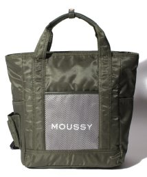 MOUSSY(BAG)/【MOUSSY】 LOGO NYLON 2WAY TOTE/502628779
