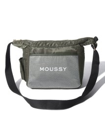 MOUSSY(BAG)/【MOUSSY】 LOGO NYLON SHOULDER/502628780