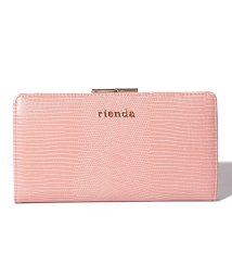 rienda(BAG)/【rienda】 EMBOSSED BASIC KISS ROCK LONG WALLET/502628782