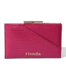 rienda(BAG)/【rienda】 EMBOSSED BASIC KISS ROCK COIN CARD CASE/502628783