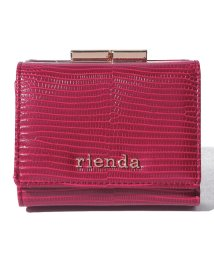 rienda(BAG)/【rienda】 EMBOSSED BASIC KISS ROCK COIN CARD CASE/502628784
