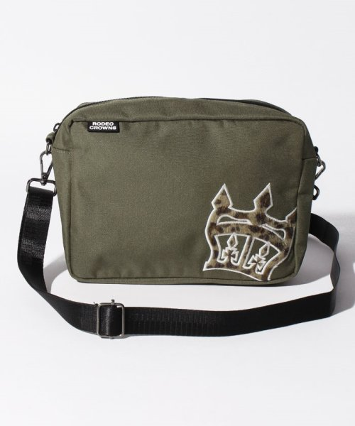 RODEO CROWNS(BAG)(ロデオクラウンズ(バッグ))/【RODEO CROWNS】 Animal2 SQUARE BAG/C06100040