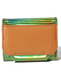 SLY(BAG)/【SLY】 MIRROR TRI FOLD WALLET/502628791