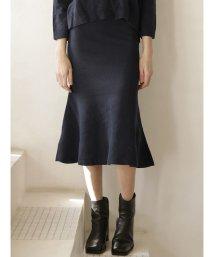 TONAL/【セットアップ対応商品】ロングフレアニットスカート/502630670