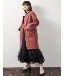merry jenny/flowerポケットcoat/502633045