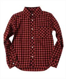 GLAZOS/ネルチェックシャツ/502639543