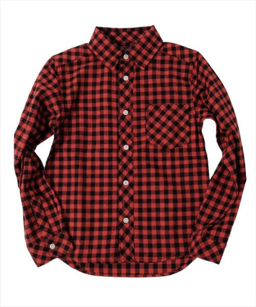 GLAZOS(グラソス)/ネルチェックシャツ/3793203
