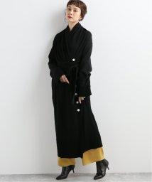 JOURNAL STANDARD/【AKIRA NAKA/アキラ ナカ】Wrap-effect long cardigan BK:カーディガン/502639840