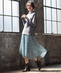 JIYU-KU /【マガジン掲載】イタリア RATTI フラワープリントスカート(検索番号Q49)/502640542