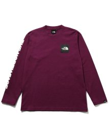 Adam et Rope Le Magasin/【THE NORTH FACE】 L/S SQUARE LOGO TEE/502571831