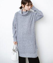 haco!/単品でも重ね着にも便利!ミックス糸がかわいいタートルニットワンピース/502621091