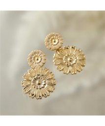 LOUISE DAMAS/LD HEN 3 Henriette アンリエット Long earrings フラワー ピアス ゴールド レディース/502626252