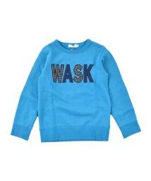WASK/ロゴ柄ワッペントレーナー(140cm~160cm)/502632908