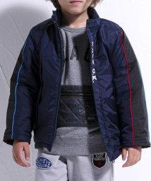 WASK/リップタフタ袖ライン中綿ジャケット(110cm~130cm)/502634060