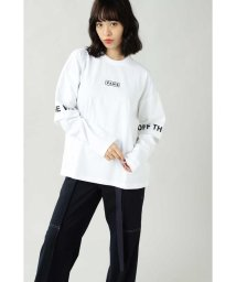 ROSE BUD/レイヤード風ロングTシャツ/502637204