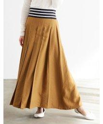 HAPPY EXP/ウエストボーダー切替スカート/502644102