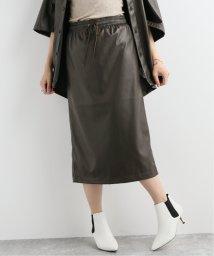 JOURNAL STANDARD/KEN-YOUシンフェイクレザースカート/502644268