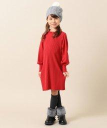 KUMIKYOKU KIDS/【110-140cm】針抜き ワンピース/502646398