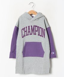 champion(kids)/【Champion】HOODED SWEAT ONE PIECE/502616429