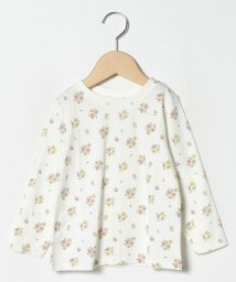 LAGOM/【オーガニックコットン】花柄カットソー/502618973