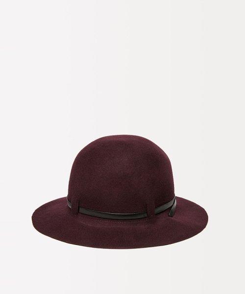 SISLEY(シスレー(レディス))/ウールフェイクレザーリボンハット・帽子/19A6GCVW41A5