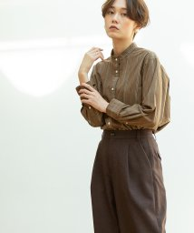 coen/【WEB限定追加生産・ムック本掲載】ブロードバンドカラー ロングシャツ/502638073