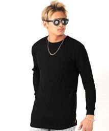 LUXSTYLE/ワッフルトールロンT/ロンT メンズ 長袖Tシャツ ワッフル ロング丈/502647174