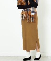 coen/【セットアップ対応・WEB限定カラー: モカ ・ベージュが登場】スムースタイトニットスカート/502647604