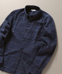 SHIPS JET BLUE/SHIPS JET BLUE: チェックボタンダウンネルシャツ/502647998