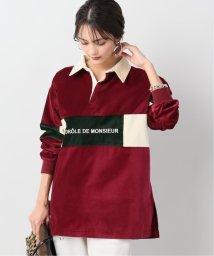 JOURNAL STANDARD relume/【DROLE DE MONSIEUR / ドロールドムッシュ】Velvet Paneled ポロシャツ/502649219