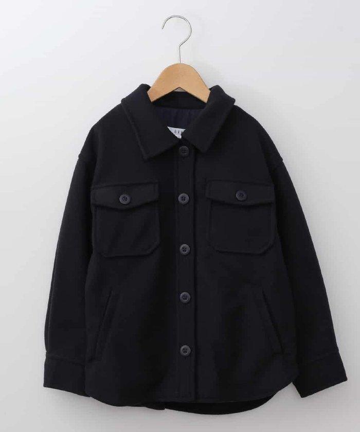[140−150]【洗濯機で洗える】ダブルポケットCPOジャケット