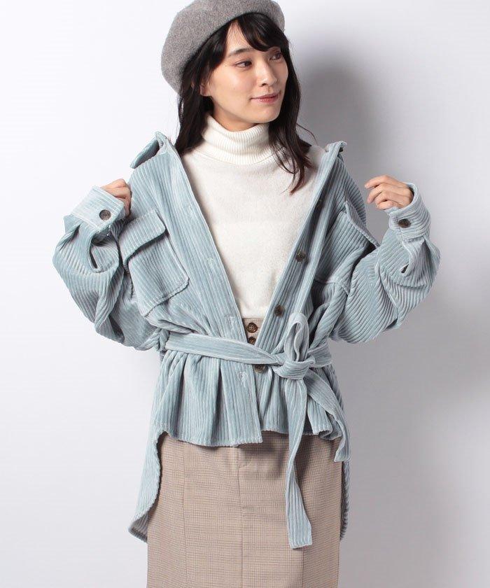 コーデュロイシャツジャケット