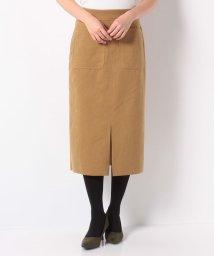 en recre/【DOLLY SEAN】フェイクレザータイトスカート/502634460