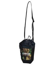 RUNNER/アヴェンチュラ AVVENTURA フロントポケット 巾着チョークバッグ ブラック グリーン/PU 迷彩 ナイロン /502647231