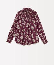 SISLEY YOUNG/シャーリングフラワーシャツ・ブラウス/502638155