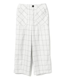 Ray BEAMS/GHOSPELL / Brief Check Trouser Pants/502588825