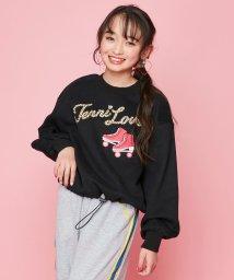 JENNI love/レオパードロゴ裏起毛トレーナー/502649042