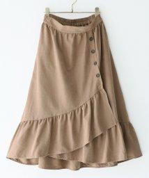 osharewalker/『n'Orフリルラップ風デザインスカート』/502652525