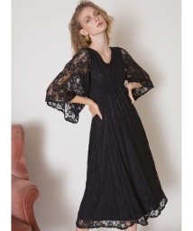 MIELIINVARIANT/Flare Lacy Dress/502653146