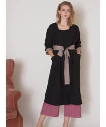 MIELIINVARIANT/Double Cloth Smooth Knit Gown/502653152
