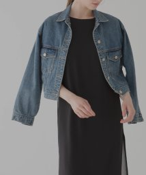 MIELIINVARIANT/Cropped Denim JK/502653159