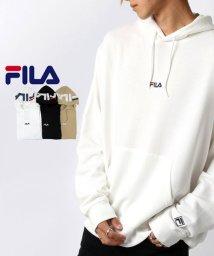 MARUKAWA/【別注】【FILA】フィラ ロゴ刺繍 フードプリント パーカー/502611803