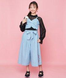 JENNI love/デニムビスチェ&ガウチョセット/502620838