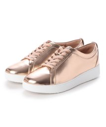 FITFLOP/フィットフロップ fitflop RALLY METALLIC SNEAKERS (Rose Gold)/502654086