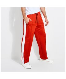 GUESS/ゲス GUESS KEITH LOGO TRACK PANTS (PRIMAL RED)/502654208