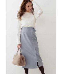PROPORTION BODY DRESSING/◆サイドベルト付きラップ風タイトスカート/502655126