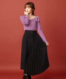 MIIA/アシメプリーツスカート/502655412