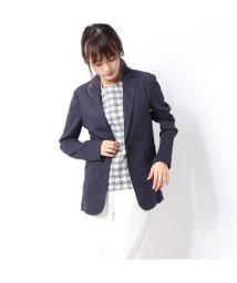 Rename/リネーム Rename リネン混テーラードジャケット (ネイビー)/502657226