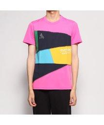SVOLME/スボルメ SVOLME 陸上/ランニング 半袖Tシャツ パッチワークランシャツ 7193-02500/502657476